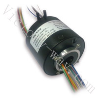 Slip Ring with 12.7mm Through-Bores