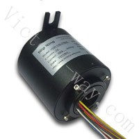 Slip Ring with 25.4mm Through-Bores